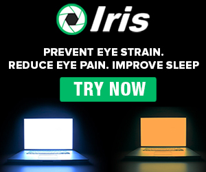 Iris - Blue light filter for Eye Protection